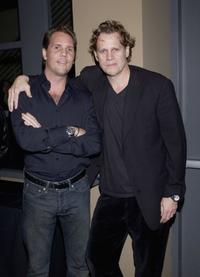 Marcus Thomas and Al Corley at the screening of