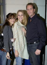 Kelly Winter, Ruby Corley and Marcus Thomas at the screening of