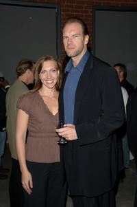 Tyler Mane and Renee Gearlings at the Stanley Cup Playoff Party.
