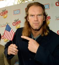 Tyler Mane at the Diet Coke Special Benefit for the United Service Organizations.