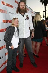 Chase Wright Vanek and Tyler Mane at the premiere of