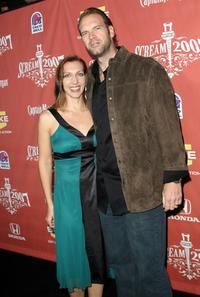 Tyler Mane and guest at the Spike TV's Scream 2007.