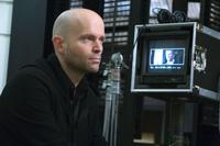 Director Marc Forster on the set of