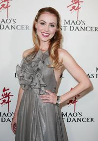 Amanda Schull at the Sydney premiere of
