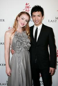 Amanda Schull and Chi Cao at the Sydney premiere of