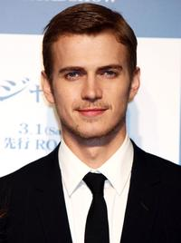 Hayden Christensen at the Japan premiere of