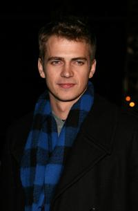 Hayden Christensen at the Las Vegas promotion of