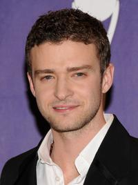 Justin Timberlake at the 2008 Rock and Roll Hall of Fame Induction ceremony.