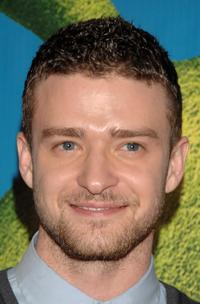 Justin Timberlake at the premiere of