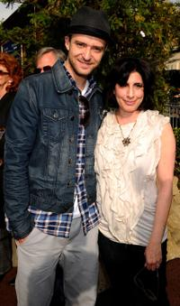 Justin Timberlake and Sue Kroll at the California premiere of