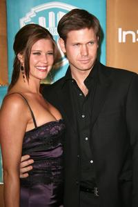 Sarah Lancaster and Matthew Davis at the In Style Magazine and Warner Bros. Studios Golden Globe After Party.