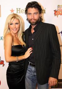Brande Roderick and Anson Mount at the premiere of