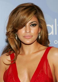 Eva Mendes at the Whitney Contemporaries ARTPARTY.