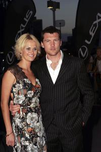Sam Worthington and Claire Charsley at the 6th Annual Lexus IF Awards.