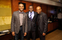 Colman Domingo, Joshua Henry and Forrest McClendon at the 65th Annual Tony Awards in New York.