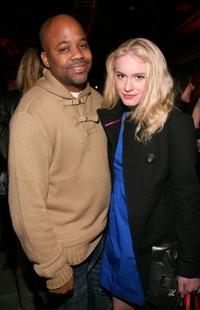 Damon Dash and Leven Rambin at the Theory Icon Project Presents
