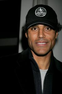 Rick Fox at the William Morris Agency Grammy Party.