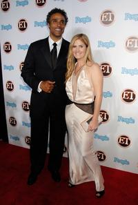 Rick Fox and Guest at the 11th Annual Entertainment Tonight Party.