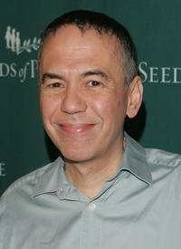 Gilbert Gottfried at the Seeds of Peace Annual Gala.