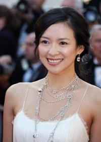 Zhang Ziyi at the premiere of