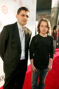 Richard Raddon and Rory Culkin at the screening of