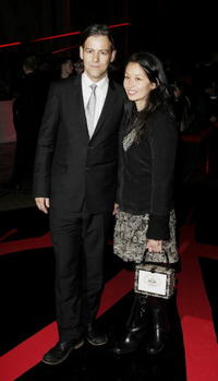 Rupert Graves and his guest at the after party following the UK premiere of