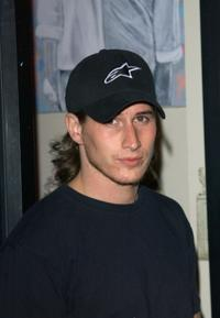 Brendan Fehr at the opening of actress Jennifer Blanc's new clothing store