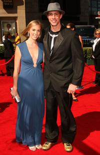 Travis Pastrana and Guest at the 2007 ESPY Awards.
