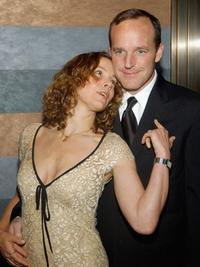 Jennifer Grey and Clark Gregg at the Atlantic Theater Company's 2005 Spring Gala.