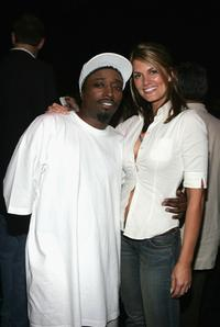 Eddie Griffin and Courtney Hansen at the Comedy Central Roast of Pamela Anderson after party.