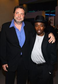 Eddie Griffin and George Gallo at the premiere of