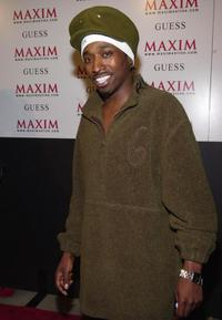 Eddie Griffin at the Maxim Motel party.