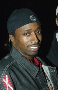 Eddie Griffin at the party at Ian Schrager's SkyBar.