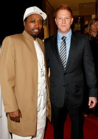 Eddie Griffin and Ryan Kavanaugh at the 23rd Annual