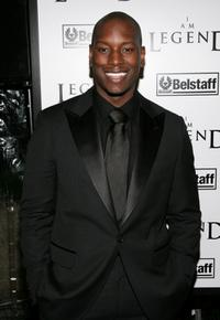 Tyrese Gibson at the premiere of