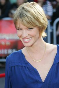 Ashley Scott at the premiere of