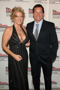 Steve Guttenberg and Joely Fisher at the