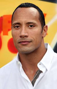 The Rock at the Teen Choice Awards.