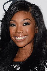 Brandy Norwood at Clive Davis & The Recording Academy's 2013 Pre-GRAMMY Gala.