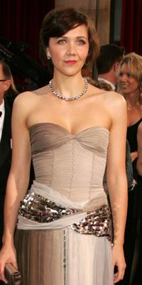 Maggie Gyllenhaal at the 77th Annual Academy Awards.