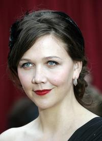 Maggie Gyllenhaal at the 79th Academy Awards.
