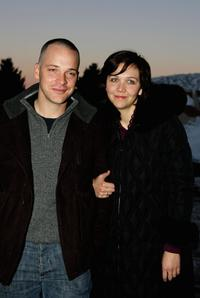 Peter Sarsgaard and Maggie Gyllenhaal at the premiere of