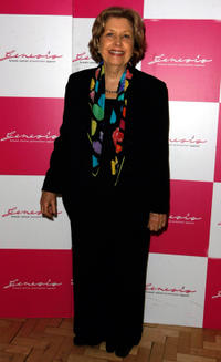 Anne Reid at the Cabaret for Cancer an evening of variety in aid of breast cancer charities in England.