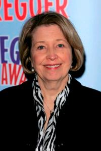 Anne Reid at the press launch for the Theatregoers' Choice Awards.