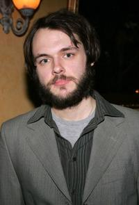 Christopher Denham at the after party of the opening night of