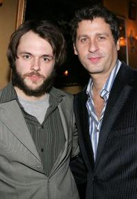 Christopher Denham and Gary Wilmes at the after party of the opening night of