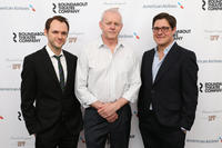 Christopher Denham, David Morse and Rich Sommer at the opening night of