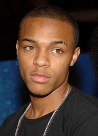 Bow Wow at the taping of BET 106 and Park.