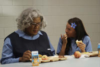 Tyler Perry as Madea and Sofia Vergara as T.T. in
