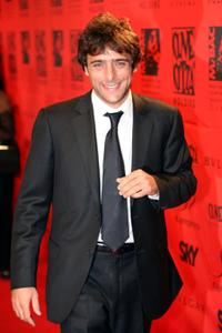 Adriano Giannini at the 70 years of Cinecitta Studios party.